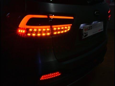 Exled All New Sorento Tail Lights Led Modules Backup Amp Turn