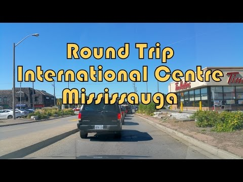 Round Trip between Toronto (North York) and International Centre (Mississauga), Ontario, Canada