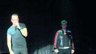 Backstreet Boys Cruise 2014 Group A: AJ Talking and If I Knew Then