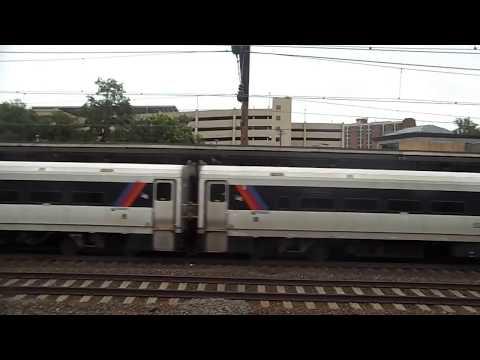 NJ Transit Comet Deadhead Train Passing Trenton Station