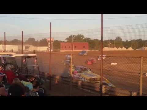 Summit Modifieds Heat 2  Charleston Speedway