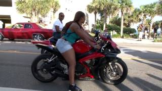 Repeat youtube video BLACK BIKE WEEK  Myrtle Beach Bikers Week Spin the Wheel B