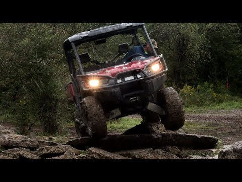 Rock Climbing With Can-am Defender HD8