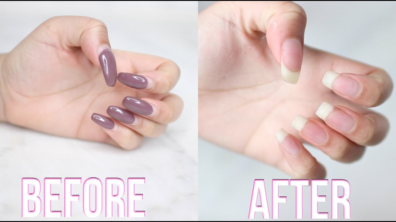 How to Remove Acrylic Nails recommend
