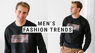 Top 12 Spring 2018 Fashion Trends for Men (or the Men in Your Life)!