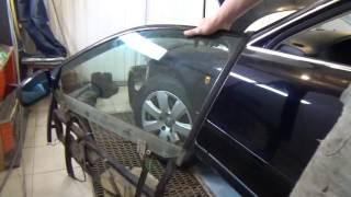 Как разобрать переднюю дверь АУДИ А4