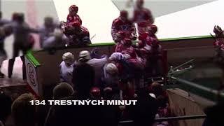 Největší hromadná bitka v historii    80 let ligového hokeje    ČT sport    Česká televize