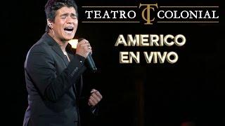 Americo en el Teatro Colonial   te vas