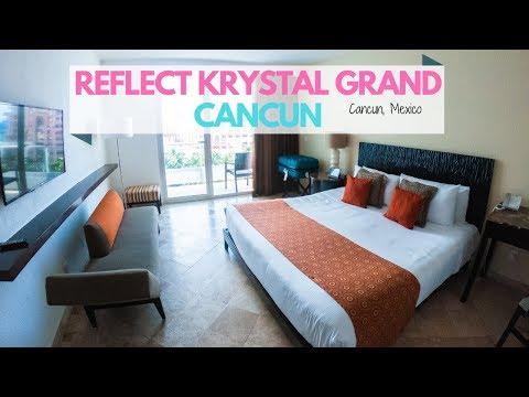 Room Tour: Reflect Krystal Grand Cancun // Cancun, Mexico // April 2019