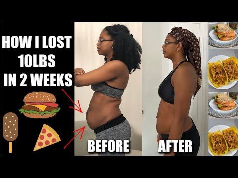 HOW I LOST 10 POUNDS IN 2 WEEKS!!