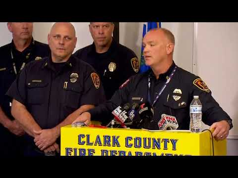 Fire chief says his department arrived at Las Vegas shooting scene in 'less than 5 seconds'