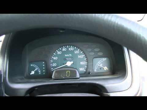 Honda Logo разгон 0-140 км.ч. 66 л.с. АИ-80, 3 передачи из 4