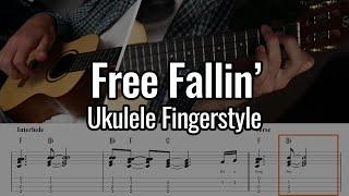 Tom Petty - Free Fallin' (Ukulele Fingerstyle / Chord Melody)