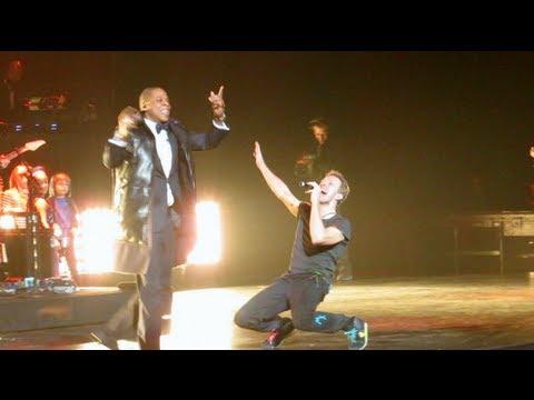 Jay Z, Coldplays Chris Martin Run This Town NYE 2012, Barclays Center