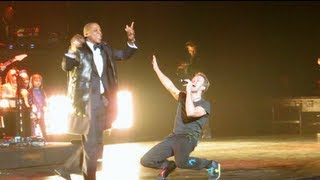 "Jay Z, Coldplay's Chris Martin ""Run This Town"" NYE 2012, Barclays Center"