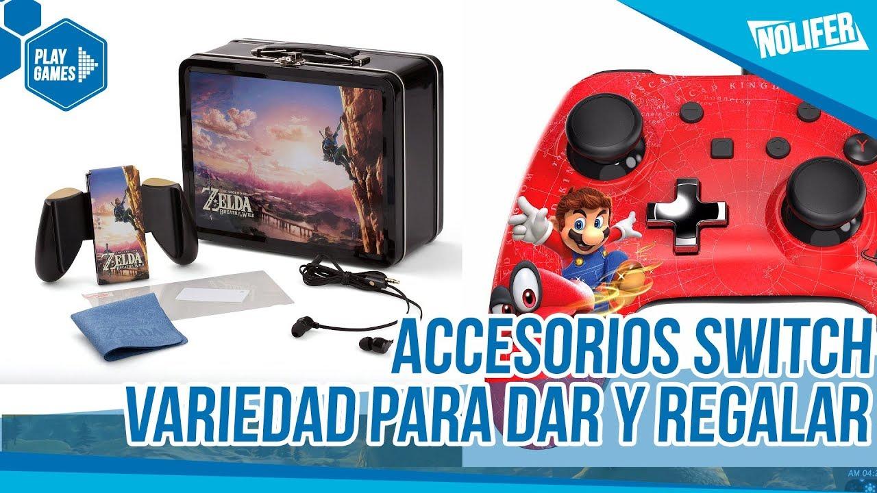 Accesorios Nintendo Switch Nuevos Bonitos Y Baratos