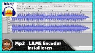 Audacity Tutorial Mp3 - LAME Encoder Installieren [ German HD ]