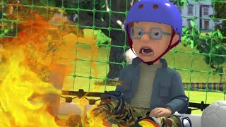 Norman sets the Soccer Field on Fire! 🔥 Best Firefighter Rescue ⭐️ Fireman Sam US