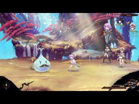 Super Neptunia RPG : (Hunt 1) Pissed-Off Papa Boss  