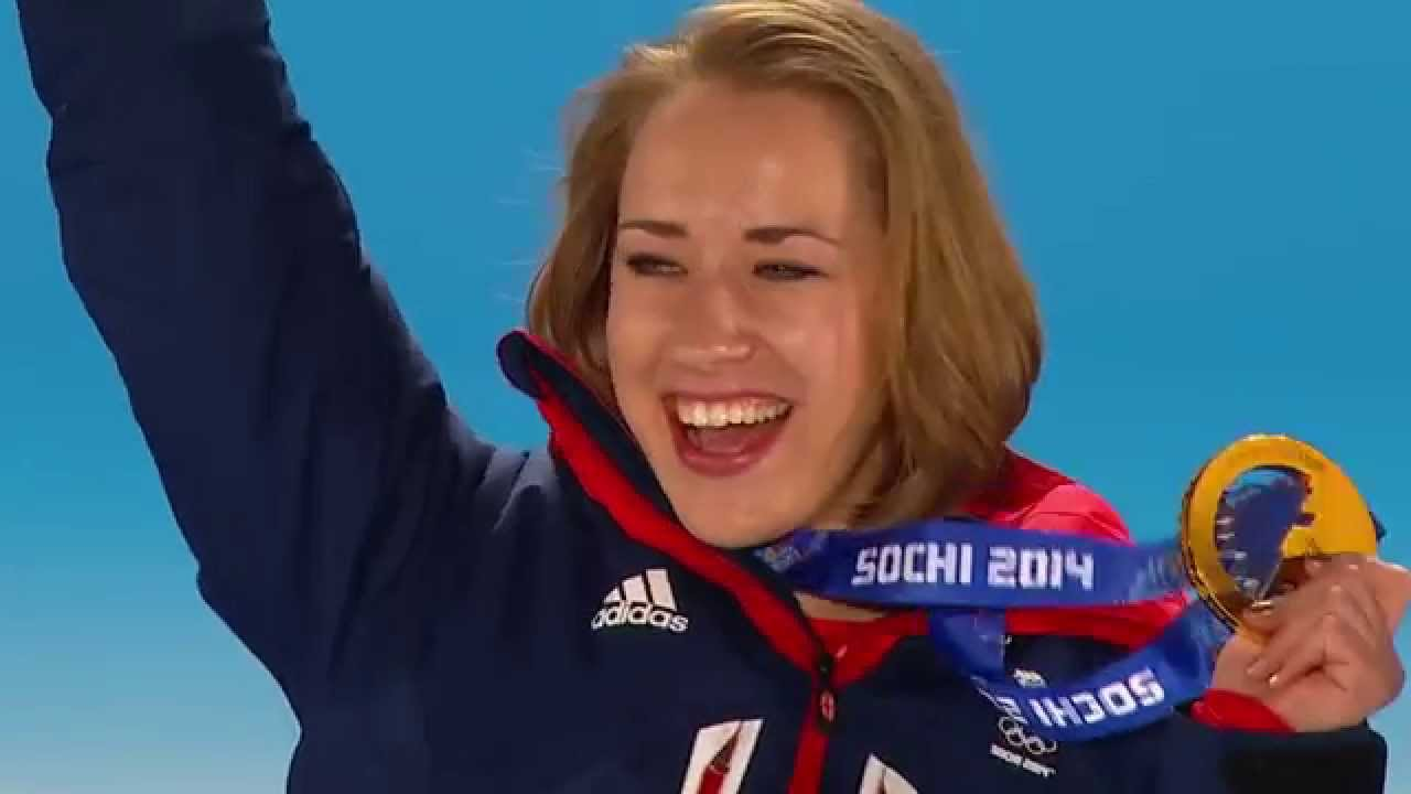 Sochi 2014: Lizzy Yarnolds Gold Medal run - Bobsleigh