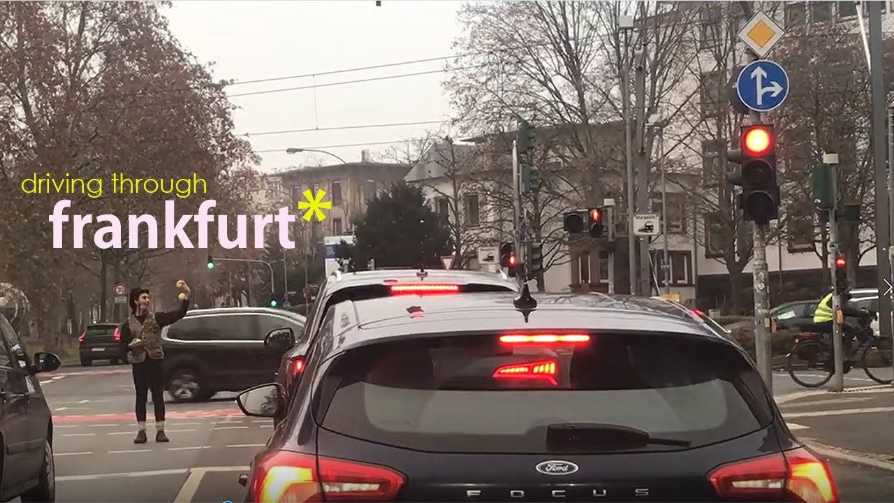 driving through Frankfurt.. with Planetradio, 출퇴근 드라이빙..
