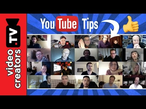 LIVE: 20 Creators Share their Best YouTube Tips for Growing your Channel