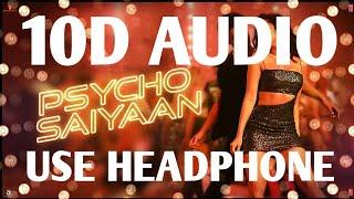 psycho-saiyaan---saaho-10d-song-aaya-mohra-saiyaan-psycho-song-saaho-movie-songs