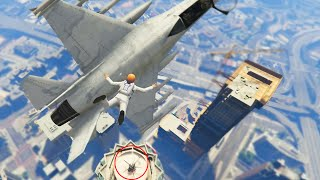 Helicopter Mission Impossible (GTA 5 Funny Moments)