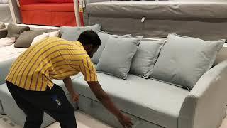 Bed Com Sofa Demo In Ikea Hyderabad
