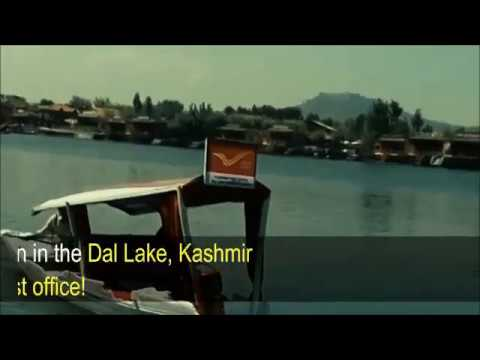 Kashmir I First floating post office of world