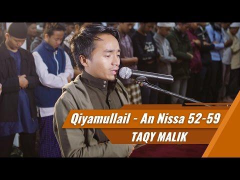 Taqy Malik Imam Sholat - Surat Al Fatihah, Surat An Nissa ayat 52-59