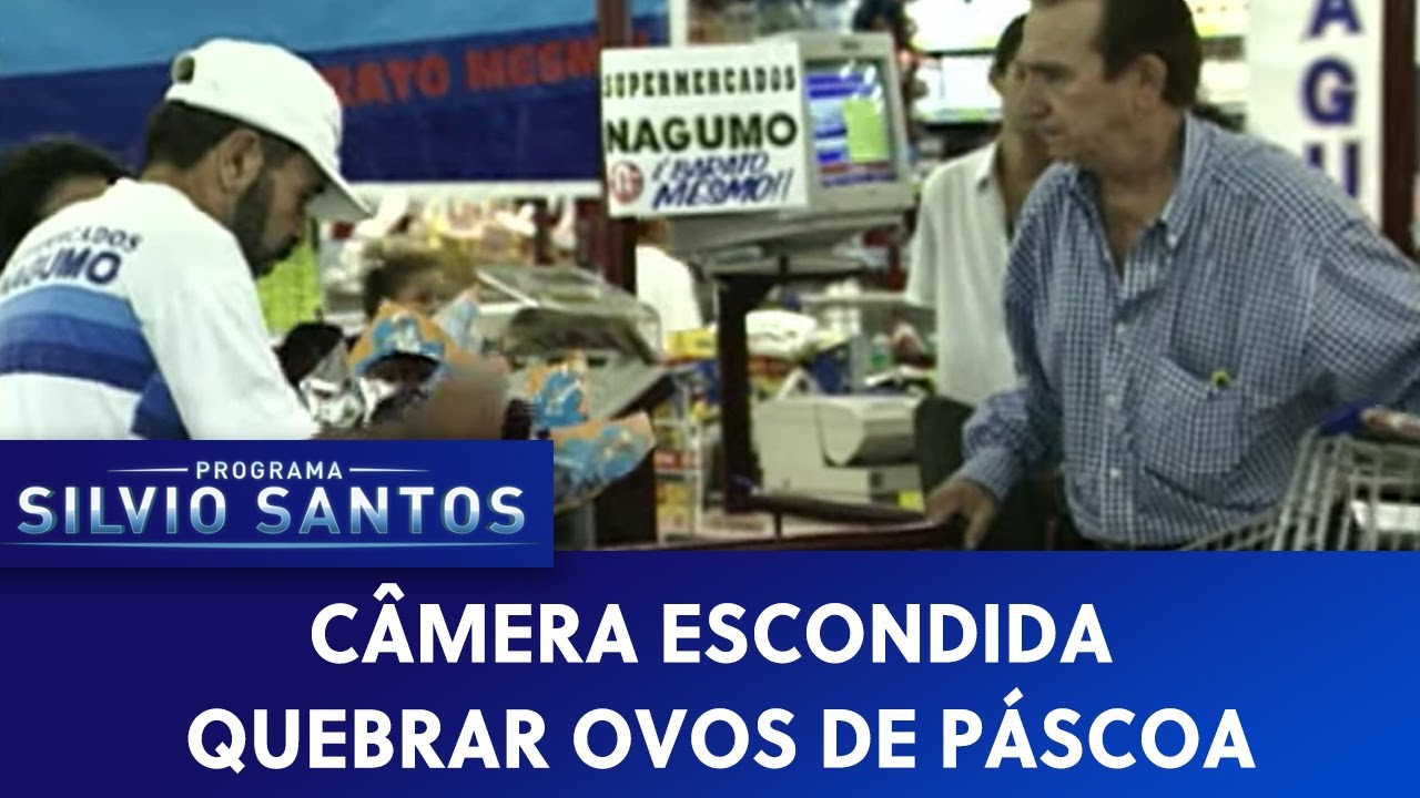 Quebrar Ovos de Páscoa | Câmeras Escondidas (07/05/21)