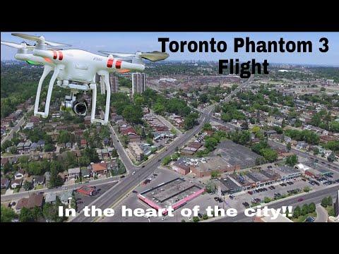 Nice View Of Toronto In HD!! ( 3 Locations) dji Phantom 3 Standard , 2.7K