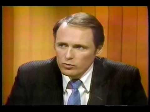Doug Christie Debates Human Rights Hack on the Cherington TV show June 1984