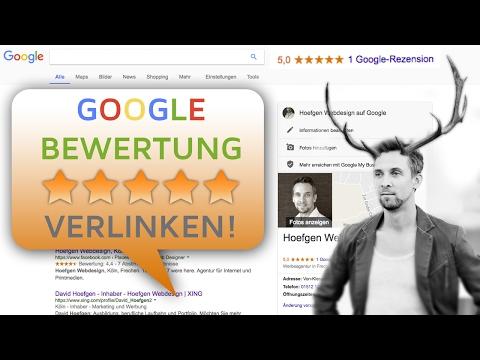 Wie Erstelle Ich Einen Link Zum Verfassen Einer Google-Bewertung