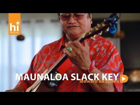 Ledward Kaapana - Maunaloa Slack Key (HiSessions.com Acoustic Live!)