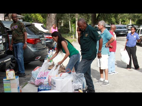 Bahamian community rallies to bring aid to Dorian victims