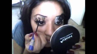 Lady Gaga Amine Eyes Toturial Thumbnail