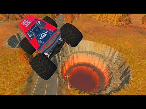 НОВЫЙ МУЛЬТФИЛЬМ про машинки Аварии потеря контроля Мультик игра BeamNG drive