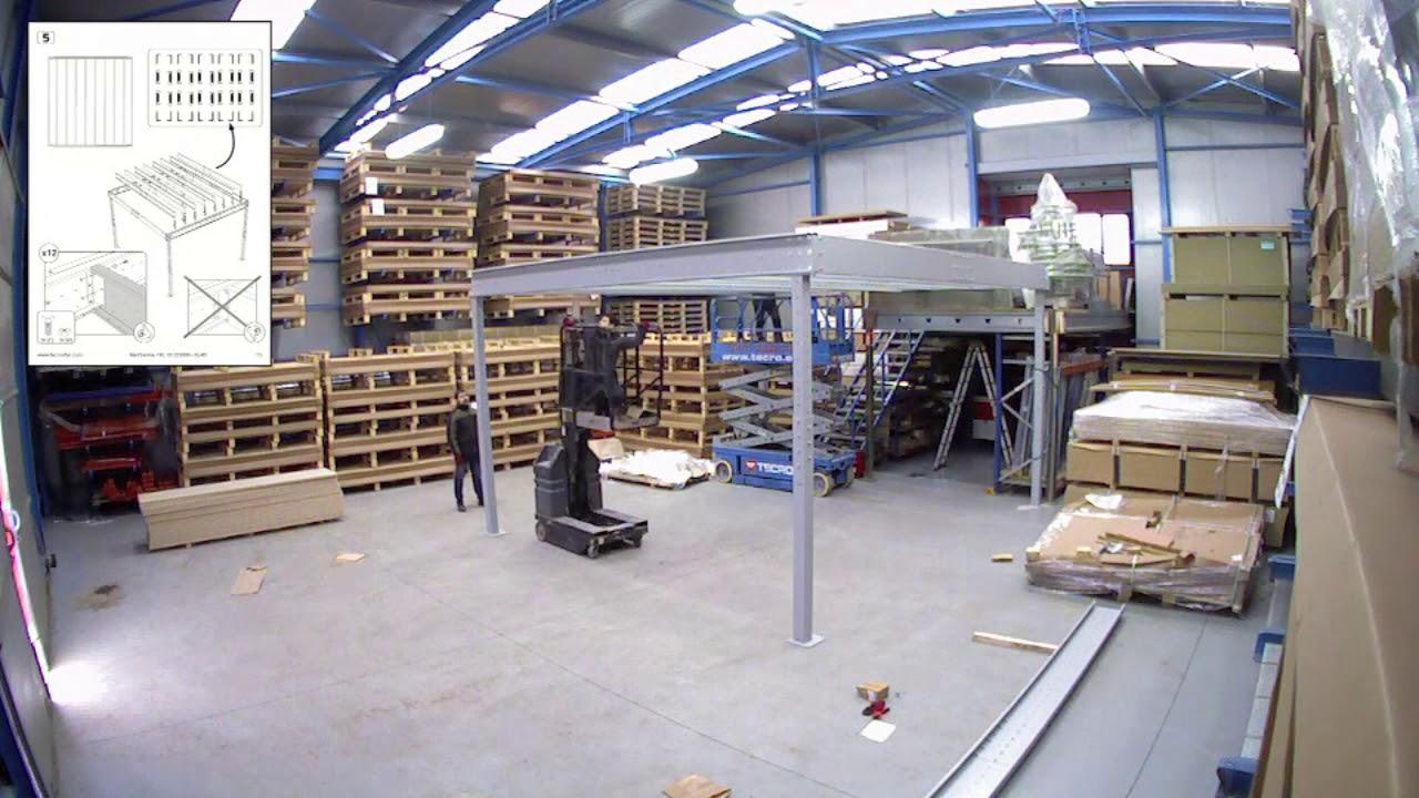 Soppalco Autoportante In Acciaio soppalco autoportante in acciaio - svelt spa
