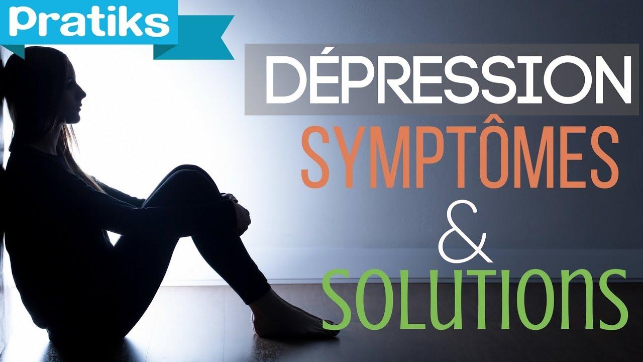 symptome debut depression