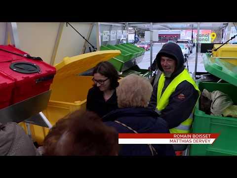 Reportage de canal 9 sur l'utilisation du Point Collect'Mobile en Suisse