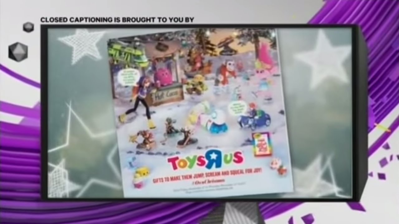 ytv 2016 brought to you by toysrus christmas toy book