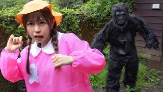 【恐怖】妹が山でゴリラに襲われました、、、、、、、、、、、、【寸劇】