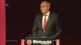Eintracht Frankfurt: Peter Fischer erneut zum Präsidenten gewählt