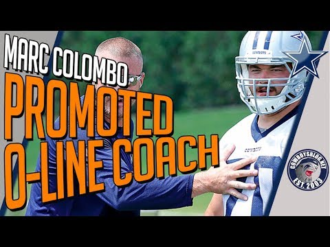 Marc Colombo Named Offensive Line Coach | Who Benefits from the Coaching Change