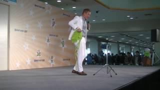 福岡ボートレースのイベントにお笑い芸人じゅんいちダビッドソンが来て...