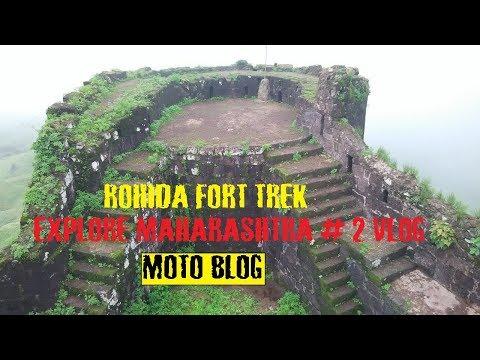 ROHIDA FORT TREK | KILLE ROHODA | MOTO VLOG | EXPLORE MAHARASHTRA # 2 VLOG