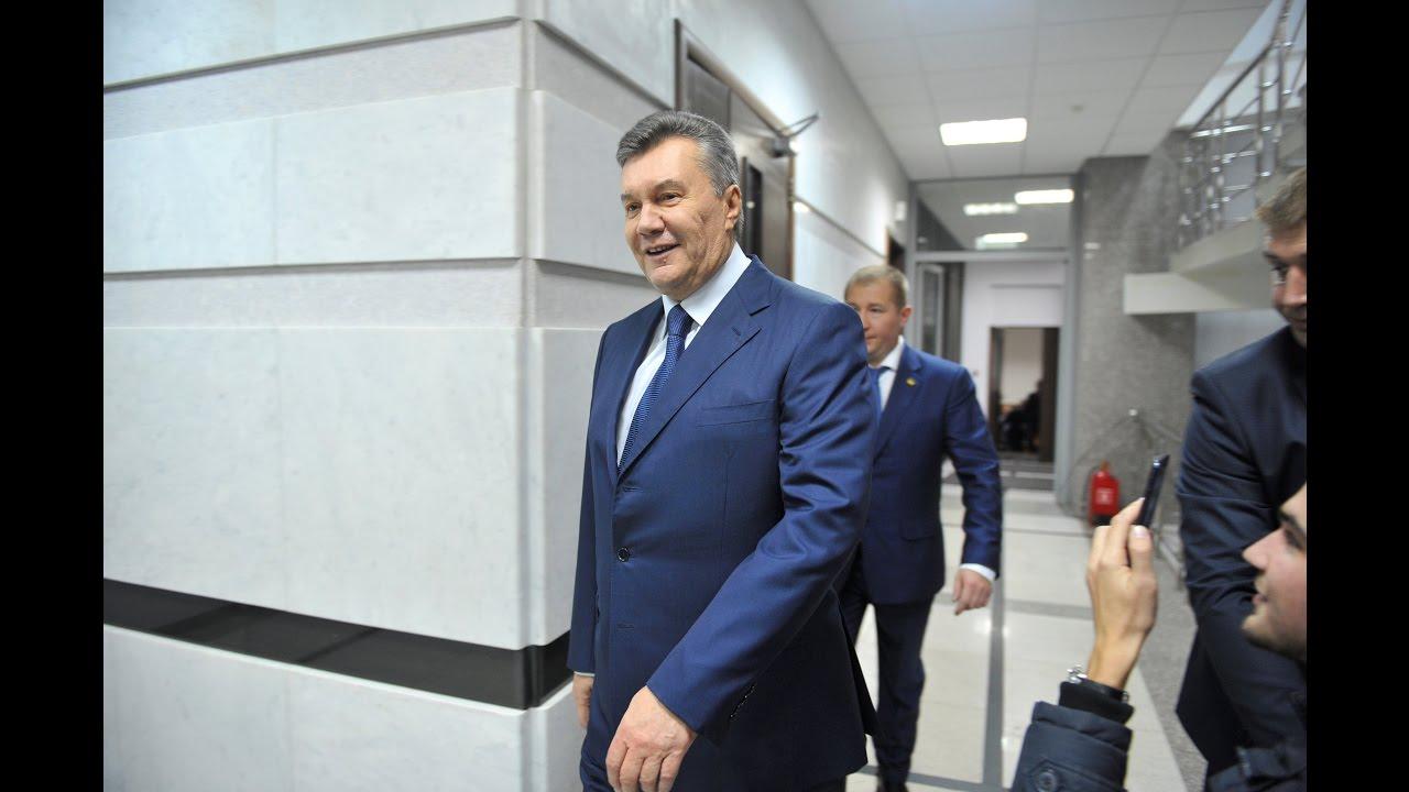 Пресс-конференция Януковича в Ростове-на-Дону. Прямая трансляция
