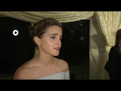Beauty and the Beast Emma Watson UK Premiere Interview